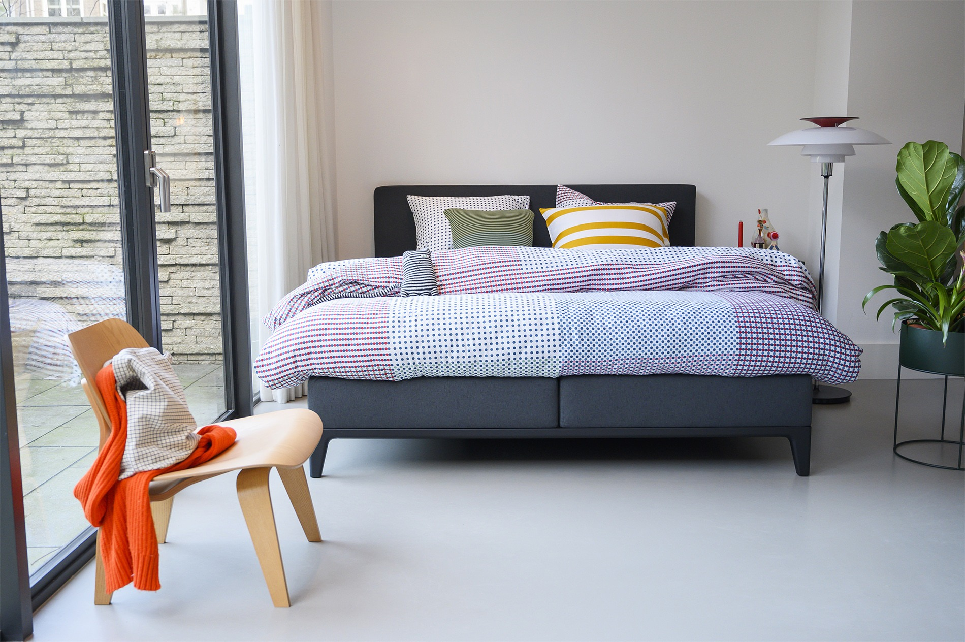 1 persoons en 2 persoons boxspring