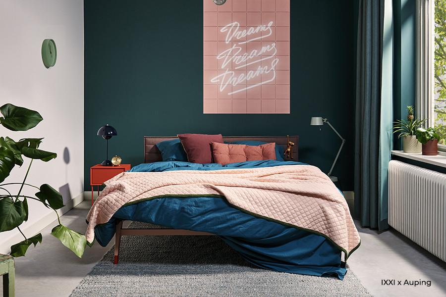 auping original bed straight hoofdbord