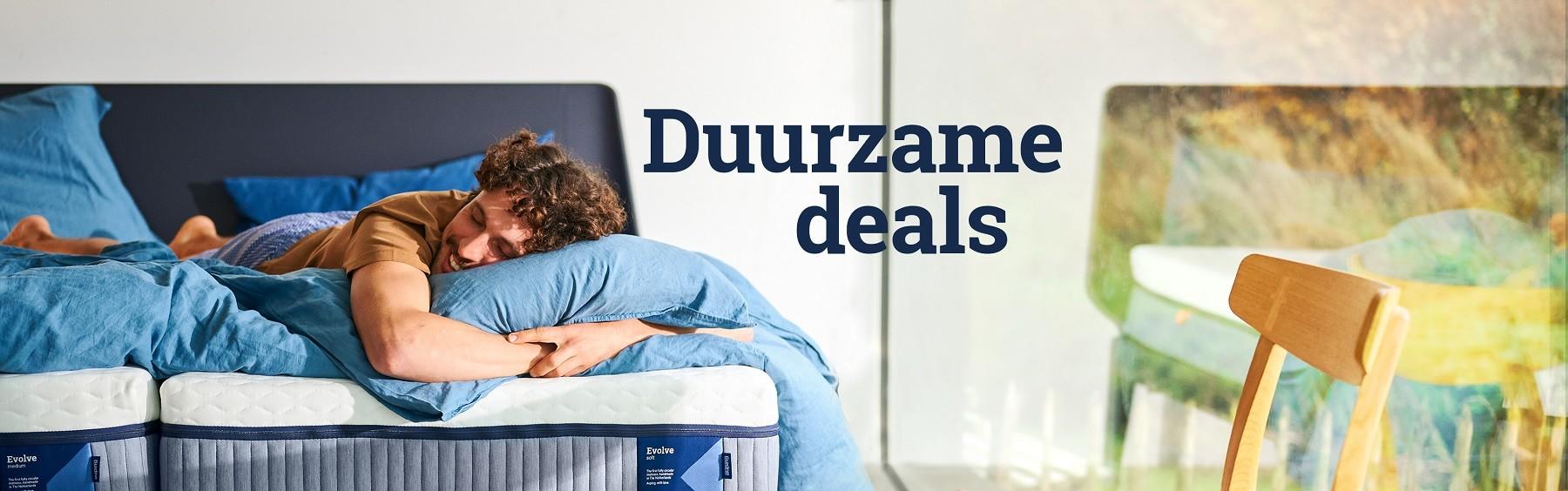 duurzame deals beddenwinkels auping