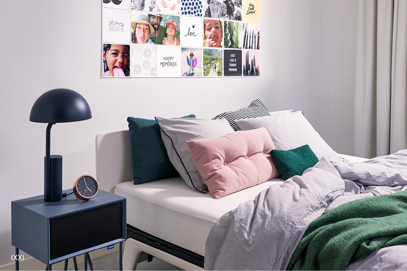 wit original bed van auping