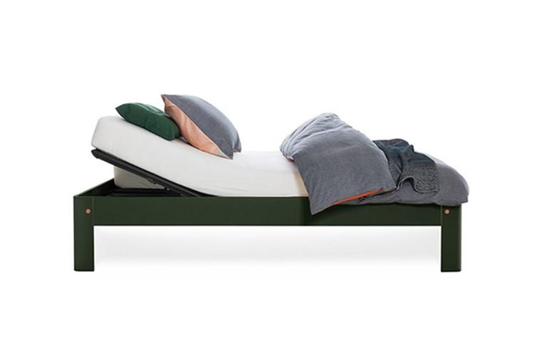 auronde bed met verstelbare spiraalbodem