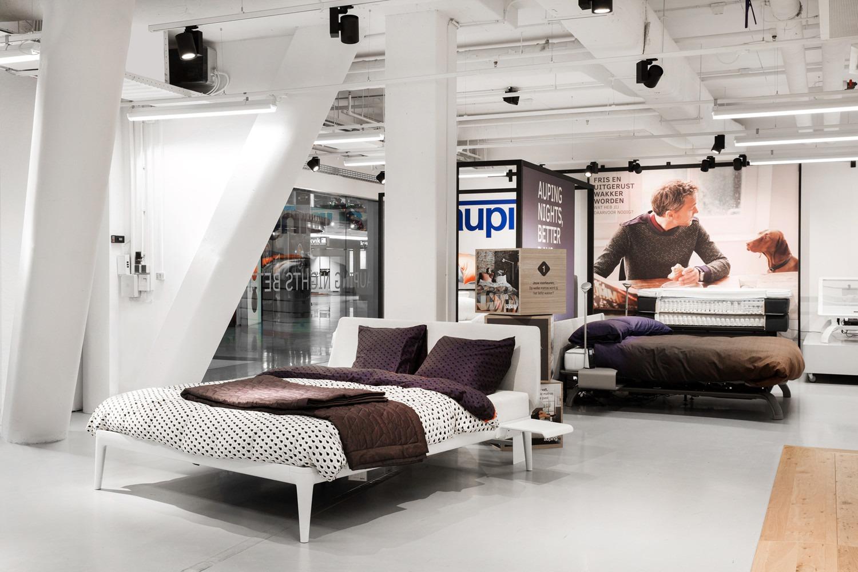 Vind onze Auping bedden in de beddenwinkels in Amsterdam