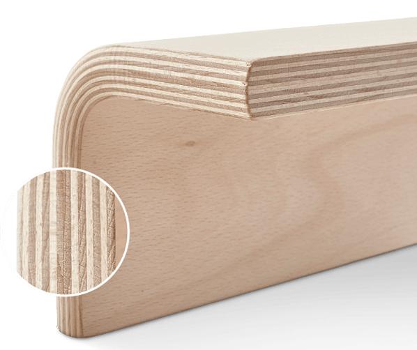 Duurzaam hout van de Auping Auronde
