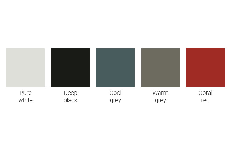 kleuren boxspring Tone