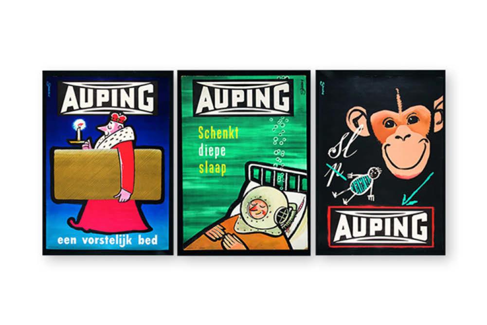 reclame klassiekers Auping