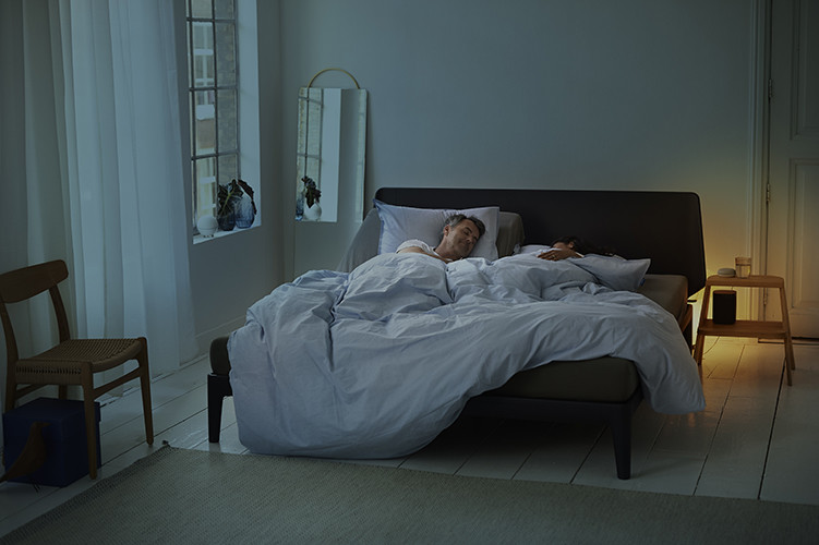 essential bed van Auping met spiraalbodem
