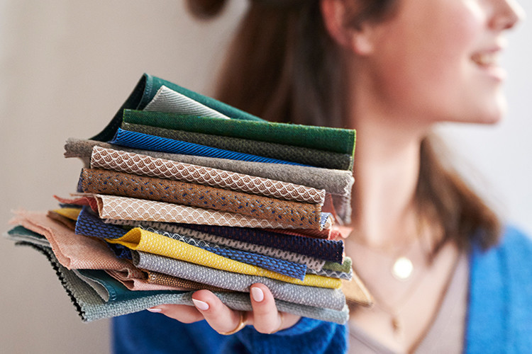 Aupings farver og tekstiler