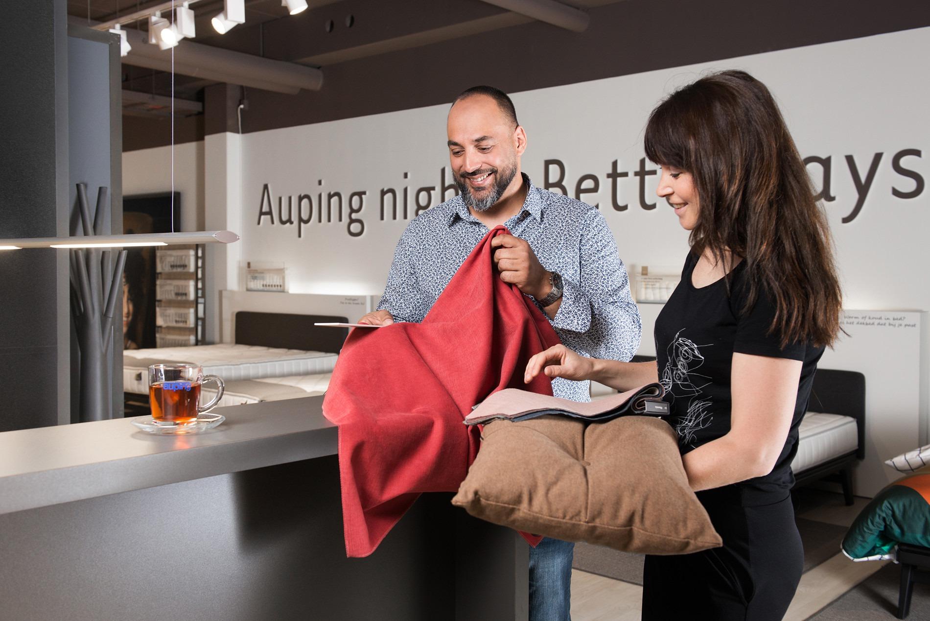 Krijg persoonlijk advies bij de Auping beddenwinkels in Den Haag