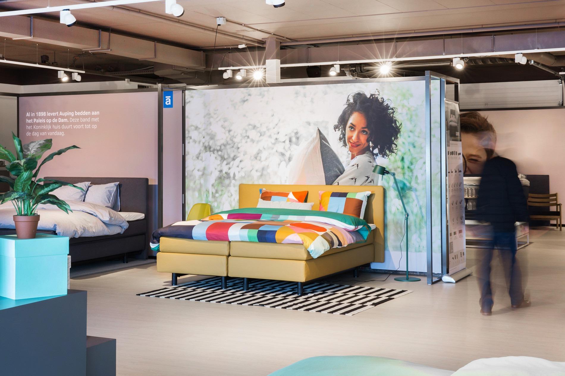 Complete Slaapkamer Nijmegen : Auping plaza nijmegen auping