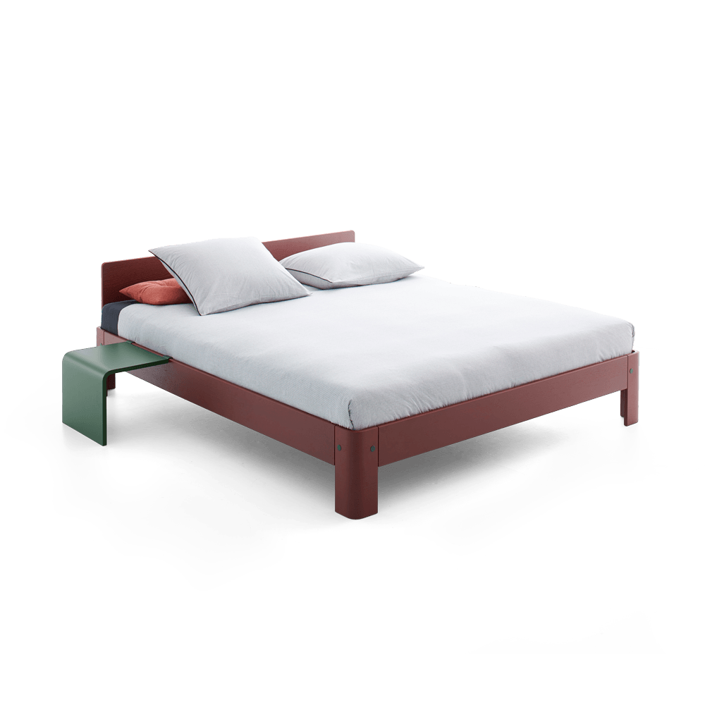 2 Persoonsbed Afmetingen.Auronde Bed Auping