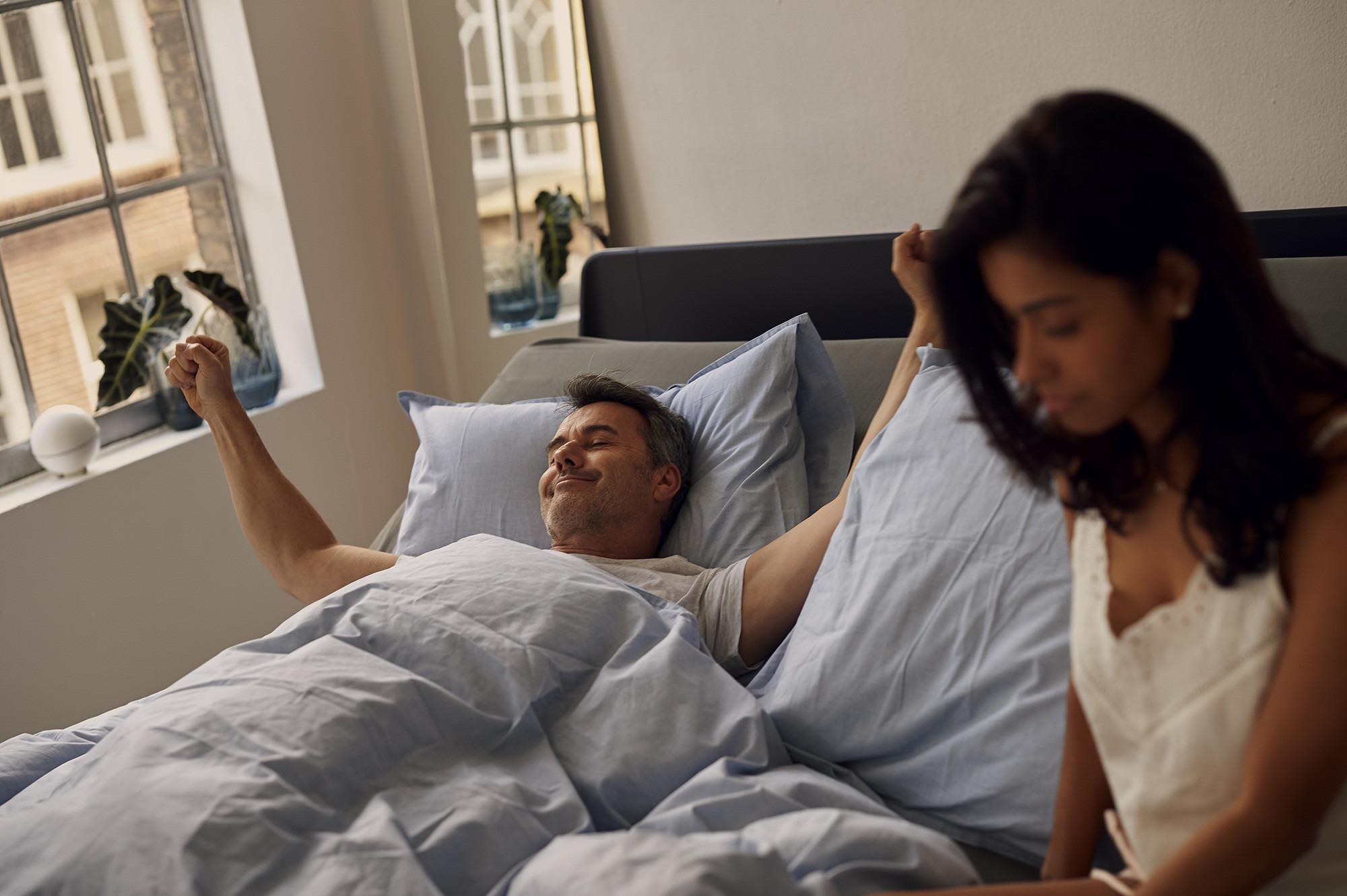 Entspannt aufwachen mit Auping Connect
