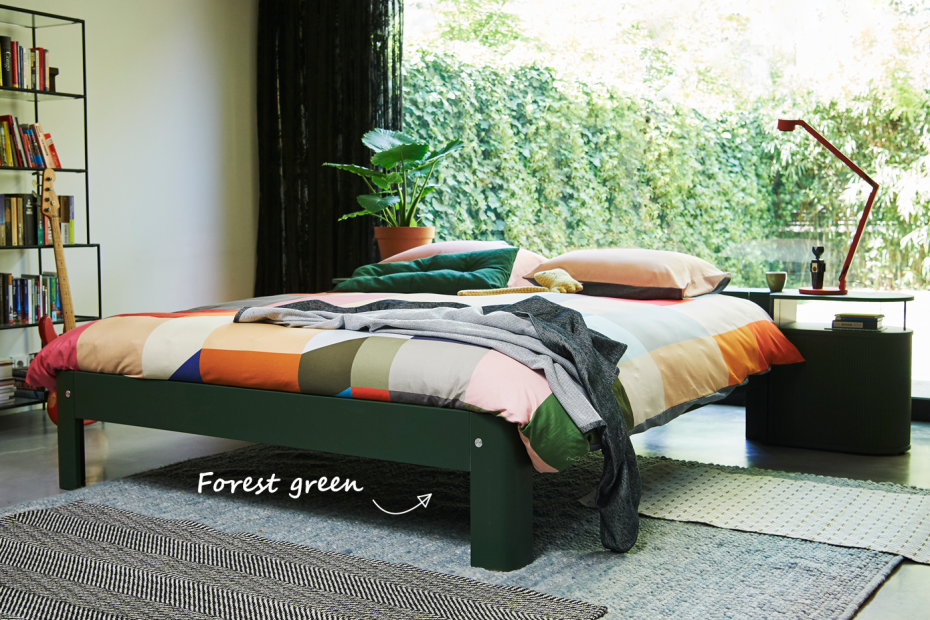 Auping Auronde bed Groen