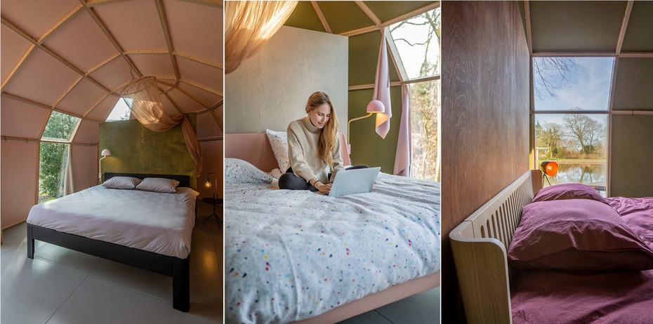 lits auping dans les cabins