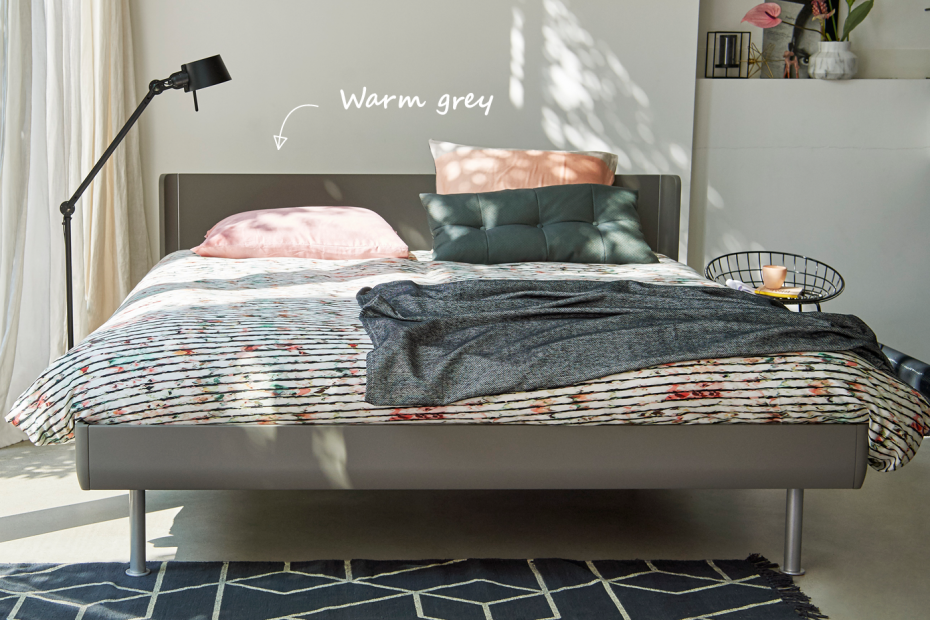 lit Auping Match bed Gris