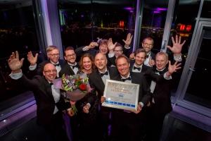 Uitreiking Nederlandse Logistiek Prijs – winnaar Auping