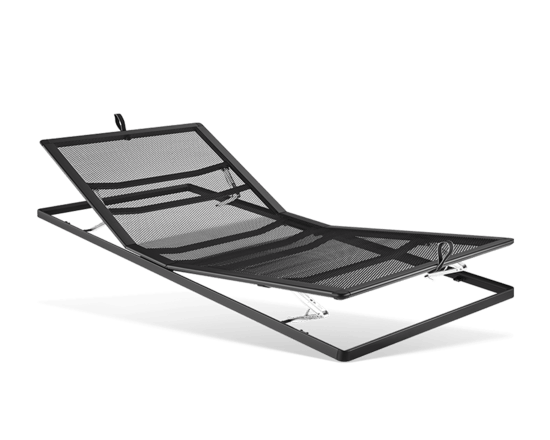 Manually adjustable mesh base