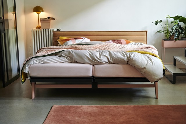 Original, inspireret af Cleopatra, seng af Auping.