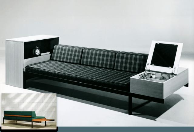 1965 Auping Couchette ontworpen door Friso Kramer