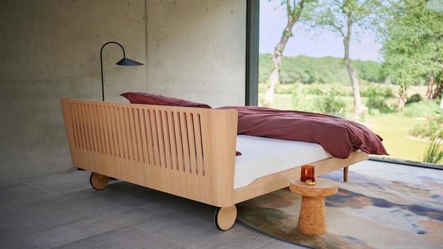 Auping Noa seng, designet af Eva Harlou