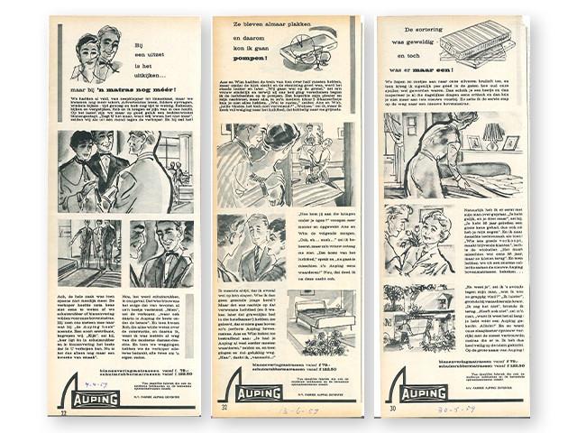Auping-tegneserier fra år 1959