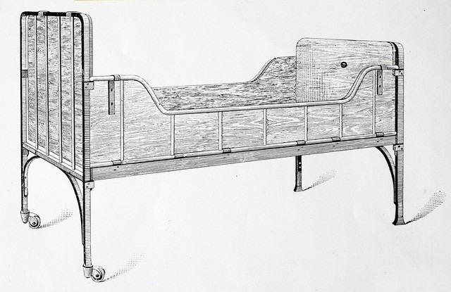 1890 Auping Hospitalsseng nr. 17 af Johannes Auping